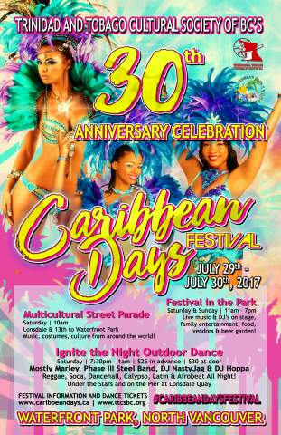 Caribbean Days Festival at Waterfront Park North Vancouver