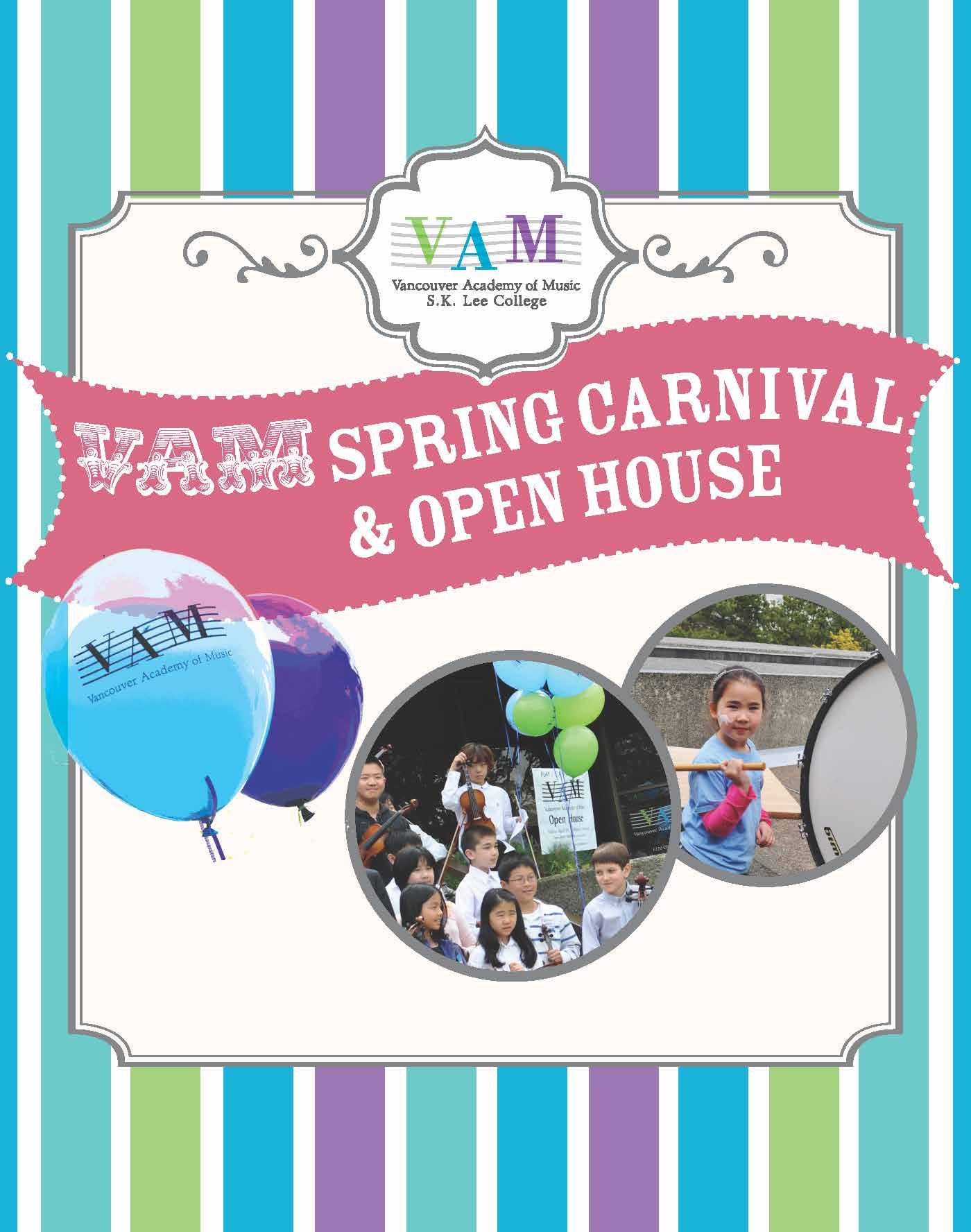 VAM Spring Carnival and Open House at the Vancouver Academy of Music