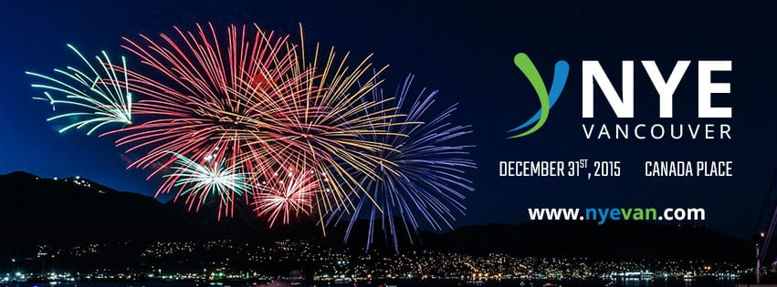 Public NYE 2016 Celebration in Downtown Vancouver