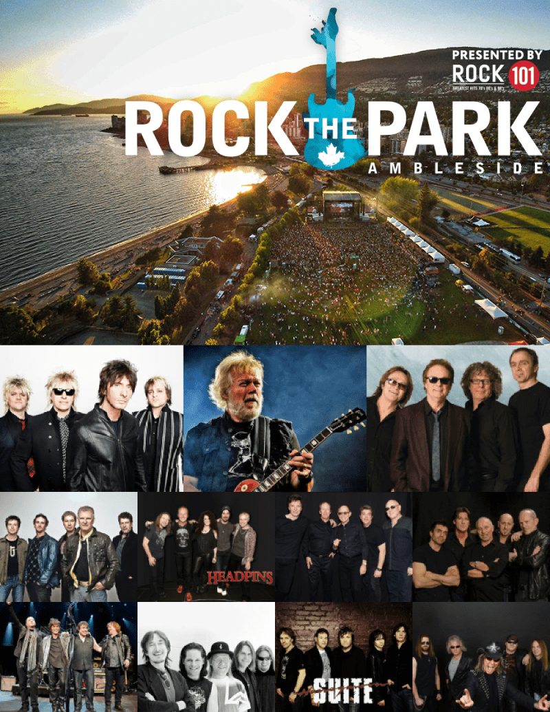 Rock The Park – Music Festival at Ambleside West Vancouver
