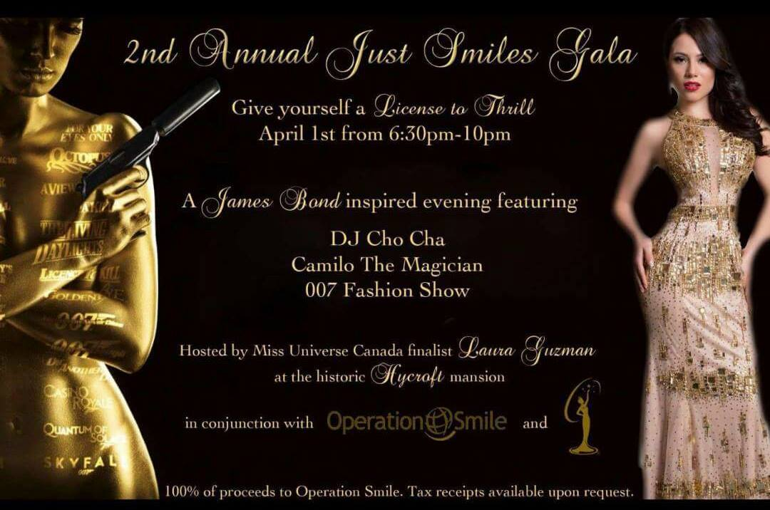 2nd Annual Just Smiles Gala at Show Map Hycroft University Women Club