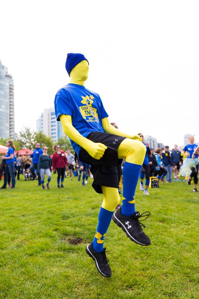 2017 Daffodil Dash Walk or Run at Ambleside Park West Vancouver