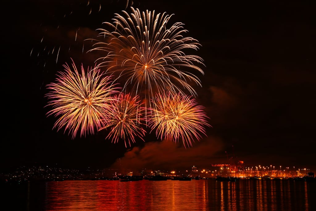 Fireworks – North & West Vancouver