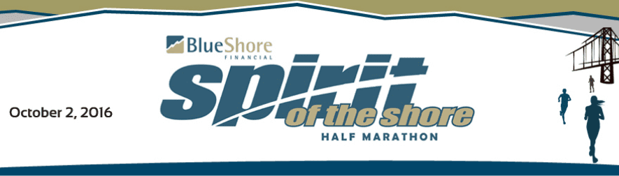 BlueShore Financial Spirit of the Shore Half Marathon