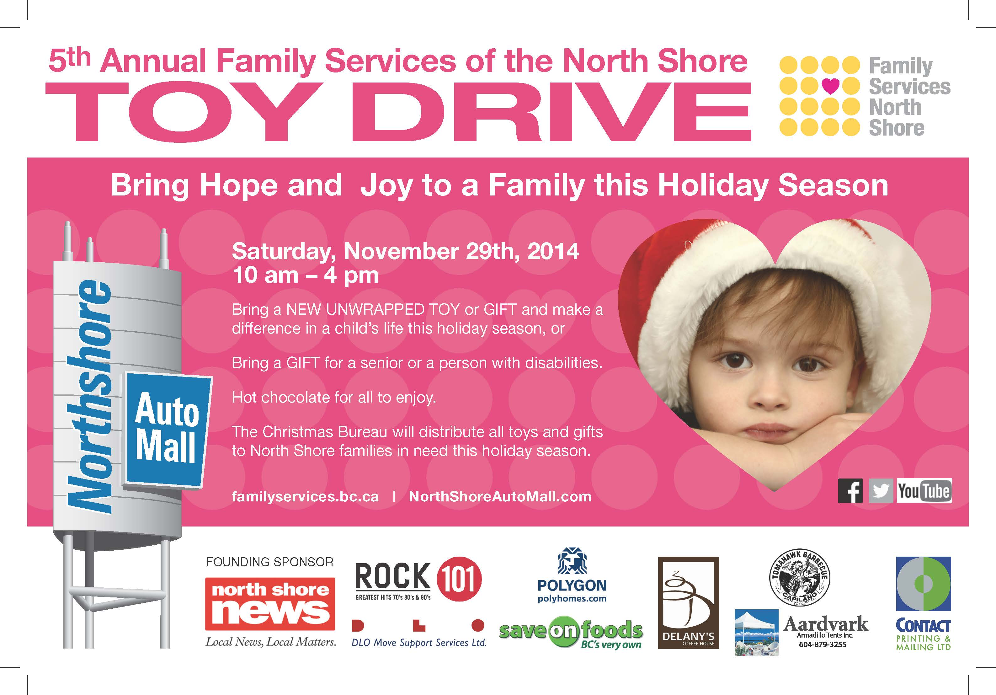 Family Services of the North Shore TOY DRIVE