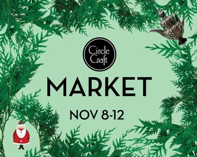 Circle Craft Market 2017 at the Vancouver Convention Centre West Building