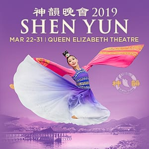 Shen Yun Returns to Vancouver!