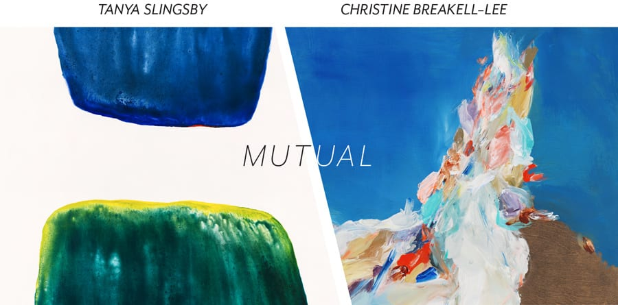 Kimoto Gallery presents: 'Mutual' New works by Tanya Slingsby & Christine Breakell-Lee