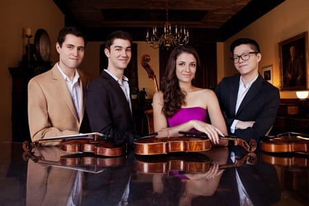 Friends of Chamber Music presents the Dover Quartet at Vancouver Playhouse