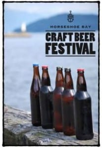 Horseshoe Bay Craft Beer Festival at the Sewell's Breakwater West Vancouver