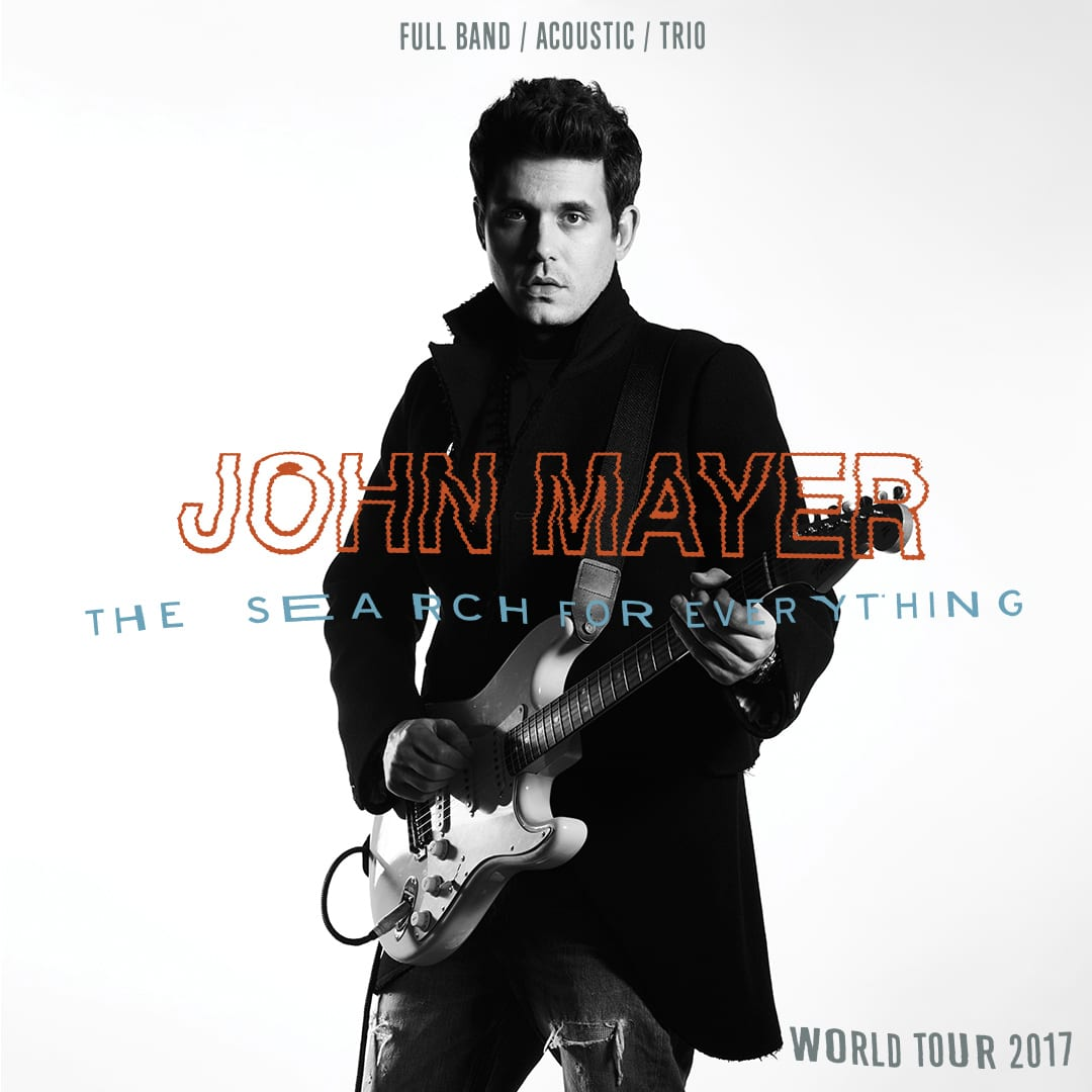 John Mayer in Concert at Rogers Arena Vancouver