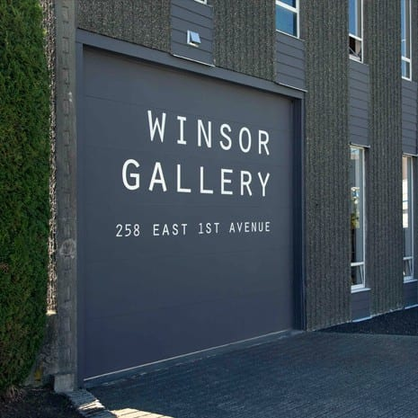 Bill Anderson and Gary Pearson at Winsor Gallery Vancouver