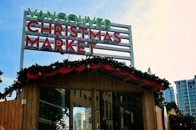 5th Annual Vancouver Christmas Market at Queen Elizabeth Theatre Plaza