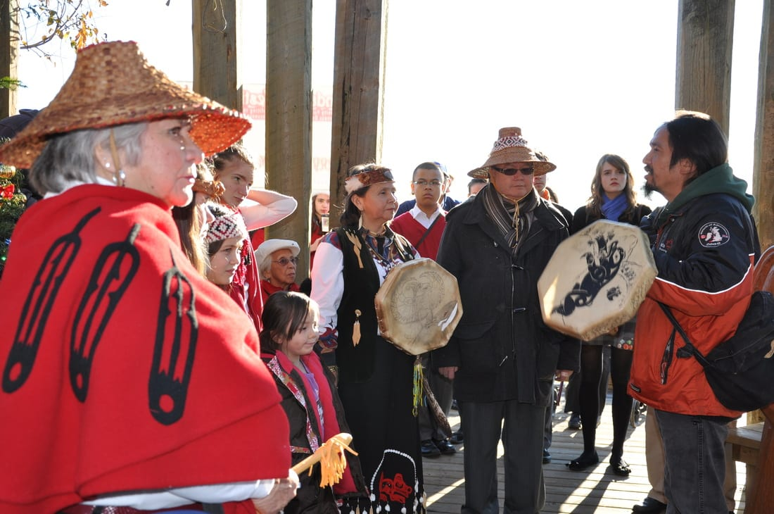 Nativity and Paddle Songs in Dundarave West Vancouver