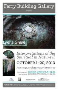 Interpretation of the Spiritual in Nature II – works by Lynne Green