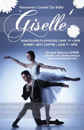 Coastal City Ballet Presents Giselle at The Vancouver Playhouse