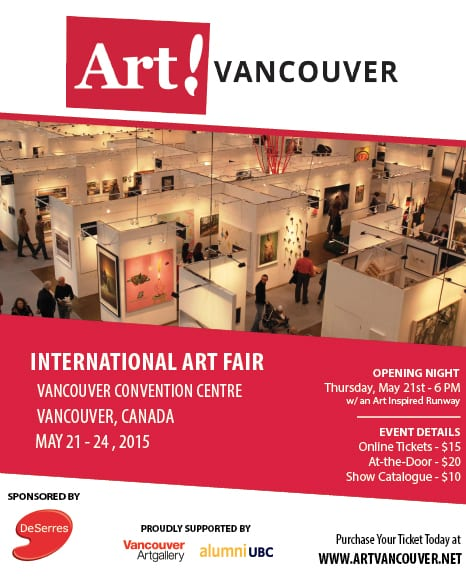 Art! Vancouver at the Convention Centre