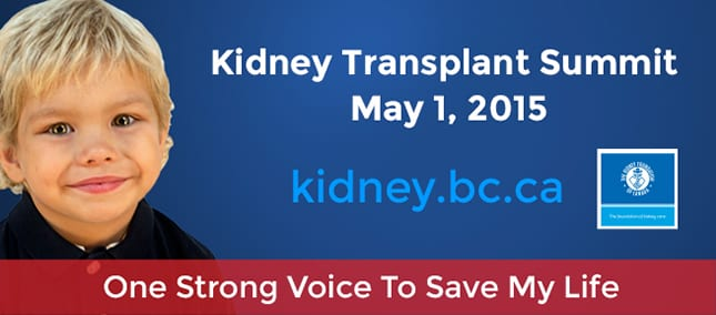 Kidney Transplant Summit at Canada Place Vancouver