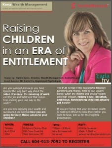 Raising Children in an Era of Entitlement with Dr. Carla Fry