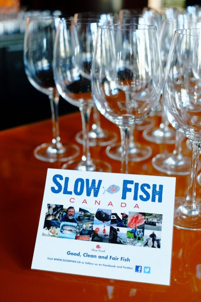 Slow Fish Dinner at the Pacific Institute of Culinary Arts Vancouver