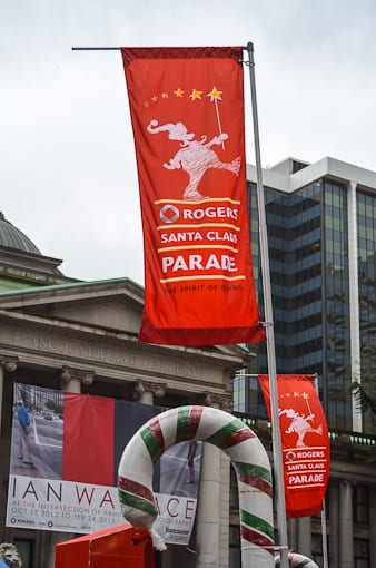 The 11th Annual Rogers Santa Claus Parade Vancouver