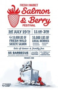 Salmon and Berry Festival at Frest St. Market West Vancouver