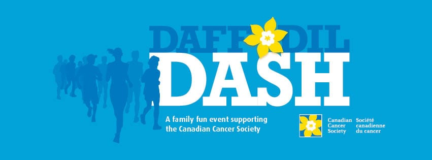 2018 Daffodil Dash North Shore at Ambleside Park West Vancouver