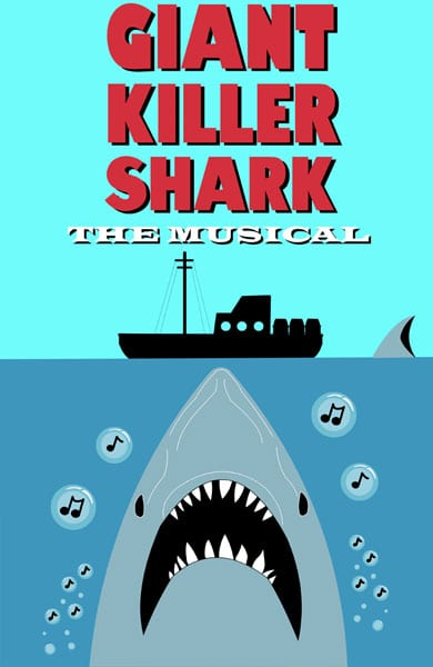 Giant Killer Shark: The Musical at Studio 1398 Granville Island Vancouver