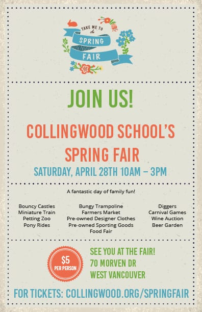 Collingwood School Spring Fair West Vancouver