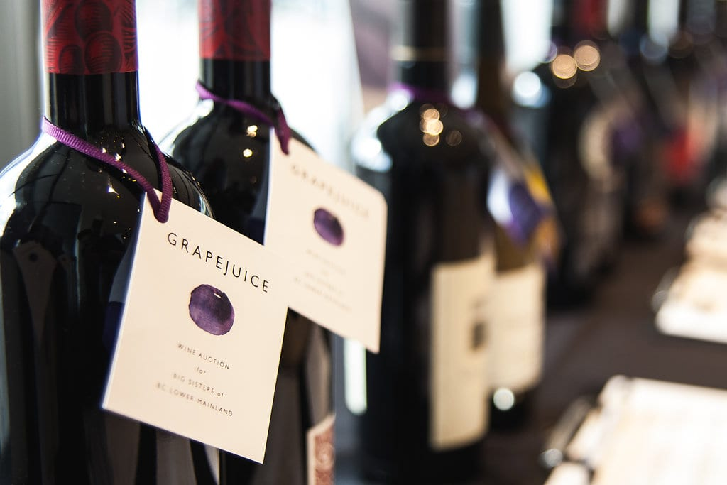 GrapeJuice 2018 Charity Event at the Aston Martin & Bentley Vancouver Showroom 19+