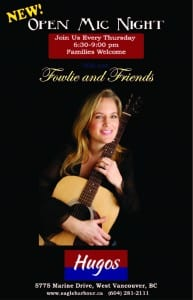 "Acoustic Jam with ""Fowlie and Friends"" (Every Thursday)"