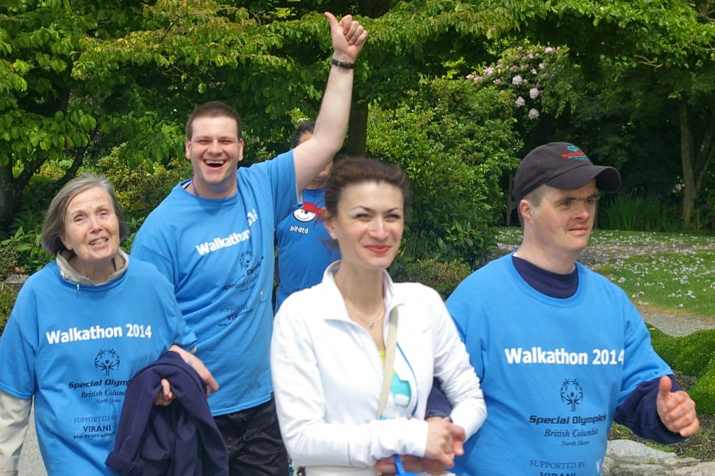 Special Olympics BC North Shore Walkathon 2015 at Ambleside Park