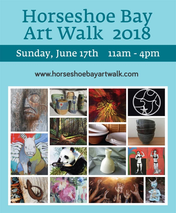 Horseshoe Bay Art Walk 2018
