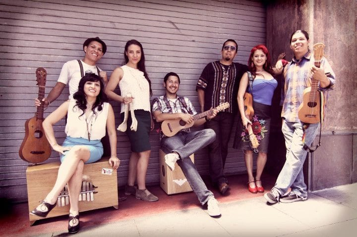 Las Cafeteras at Club PuSh at Performance Works on Granville Island