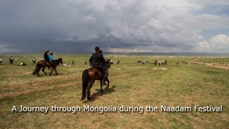 The Ultimate Traveller – A Journey through Mongolia a Multimedia Presentation at the Ferry Building Gallery