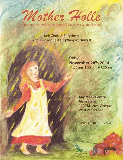 """""""Mother Holle"""" Bell Choir and Eurythmy at the Kay Meek Centre West Vancouver"""