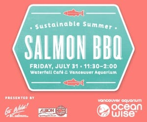 Sustainable Summer Salmon BBQ at the Vancouver Aquarium