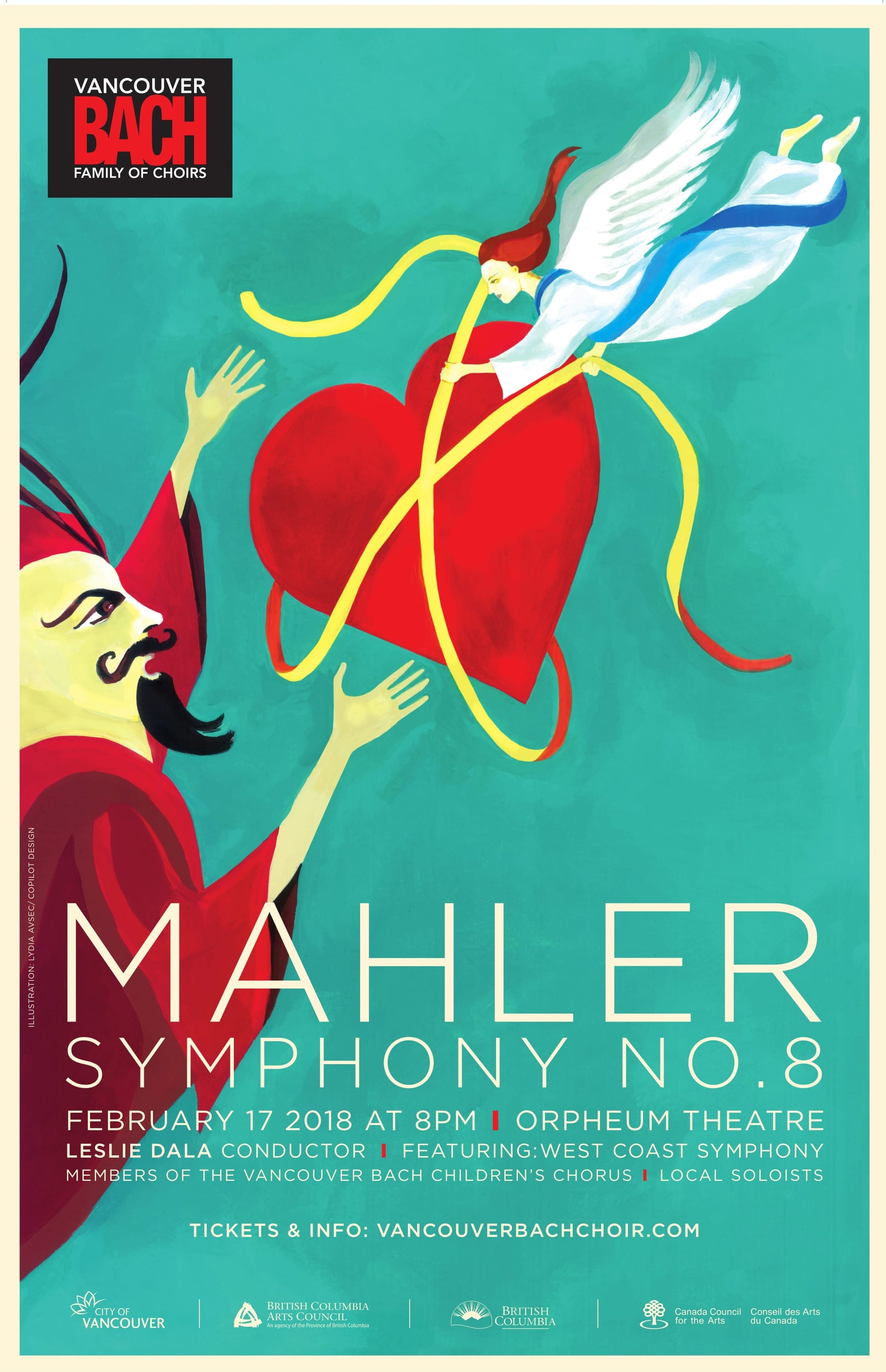 Mahler's 8th Symphony with Vancouver Bach Choir and West Coast Symphony