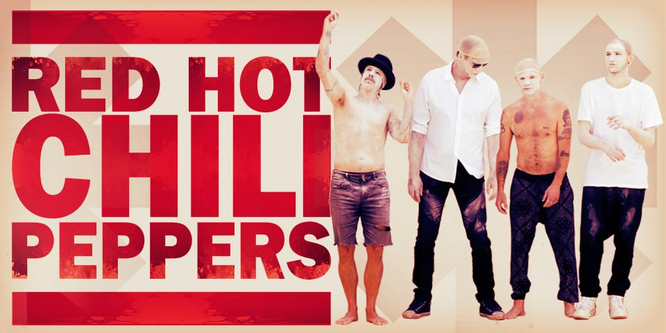 Red Hot Chili Peppers in Concert at Rogers Arena Vancouver