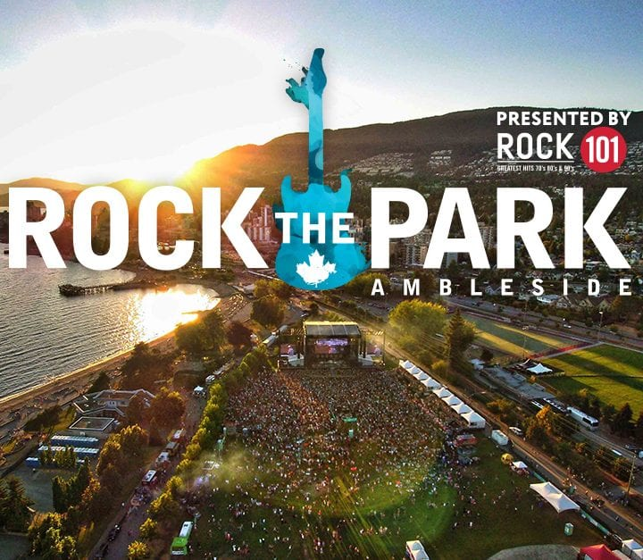 Vancouver's Classic Rock Festival at Ambleside Park West Vancouver