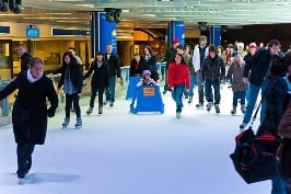 Robson Square Ice Rink Vancouver