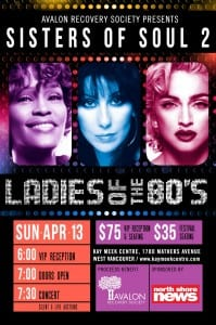 Ladies of the 80's Sisters of Soul 2 at the Kay Meek Centre