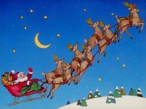 Santa Claus' Arrival