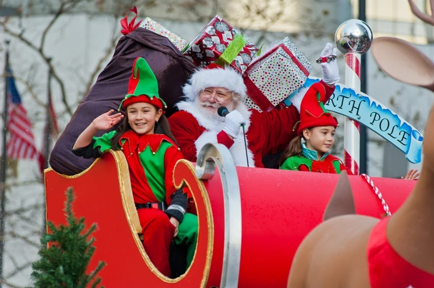 12th Annual Rogers Santa Claus Parade Vancouver