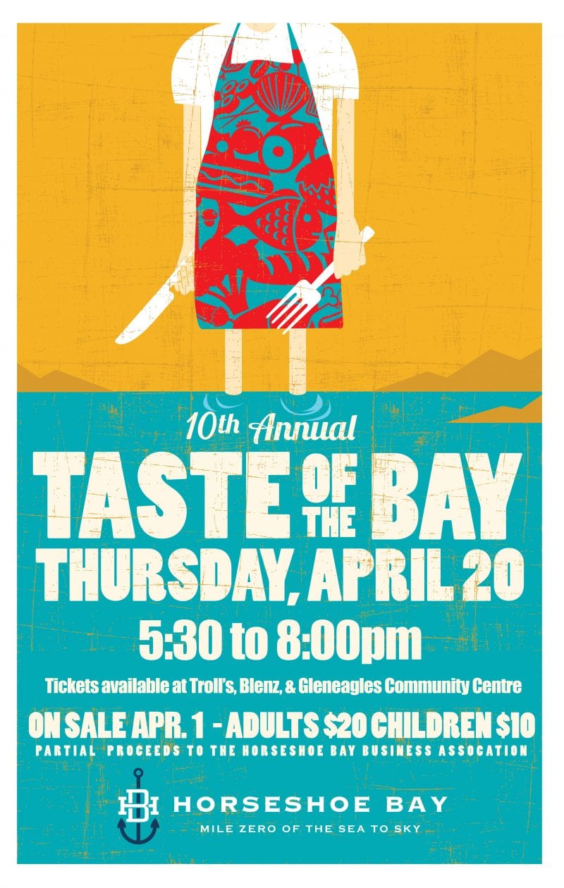 10th Annual Taste of The Bay at Horseshoe Bay Village West Vancouver