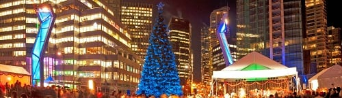 2013 Vancouver Tree Lighting Celebration – Presented by Amacon