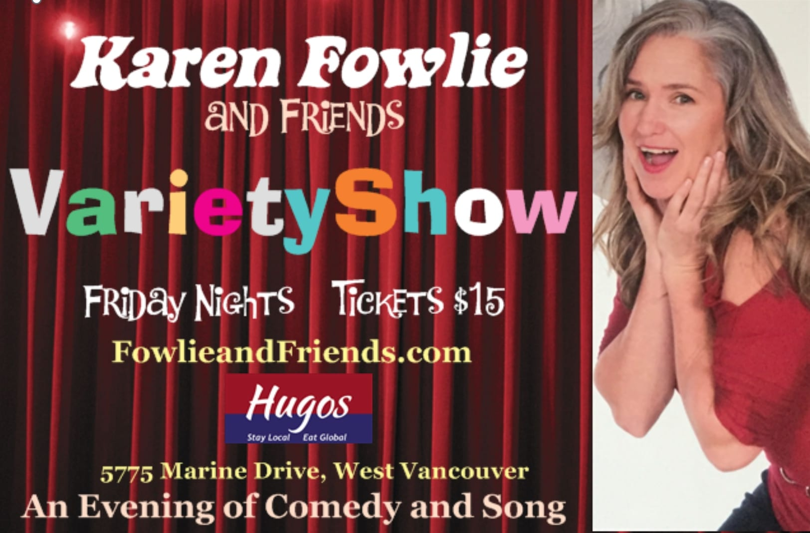 """Fowlie & Friends Variety Show – Episode 2 """"FOOLS"""" April 8th"""