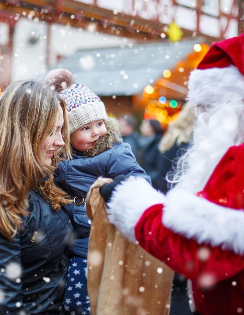 2017 Vancouver Christmas Market at Jack Poole Plaza