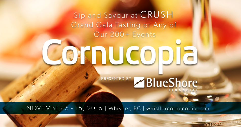 Whistler Cornucopia Wine Party