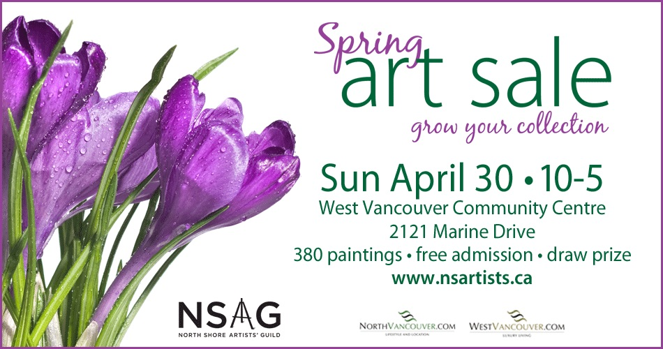 North Shore Art Sale Vancouver